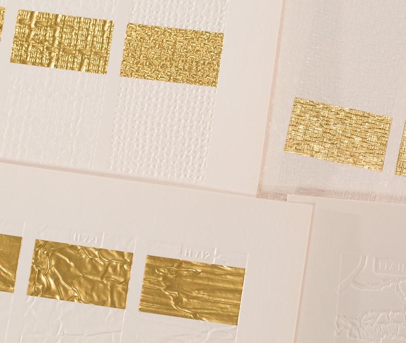 H + M textures w foil